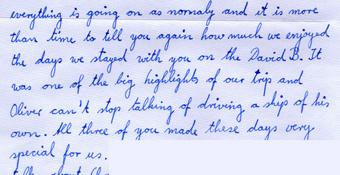 Testimonial Letter