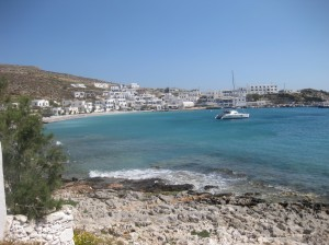 Chartering a sailboat in Greece