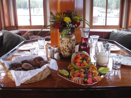 San Juan Islands Cruise | David B Yacht Charter | Gourmet Meals