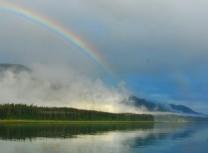Rainbow at Sanford Cove