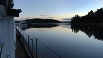 Sunrise in Garrison Bay at San Juan Island