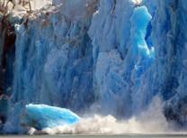 Dawes glacier iceberg calving