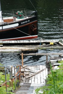 Butedale Dock