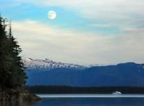 Moon over No Name Cove