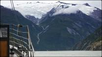 Underway in Sawyer Glacier's Fjord