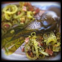Bull kelp pickles