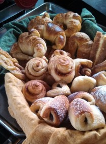 Croissants ready