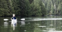 Kayaking in the Great Bear Rain Forest