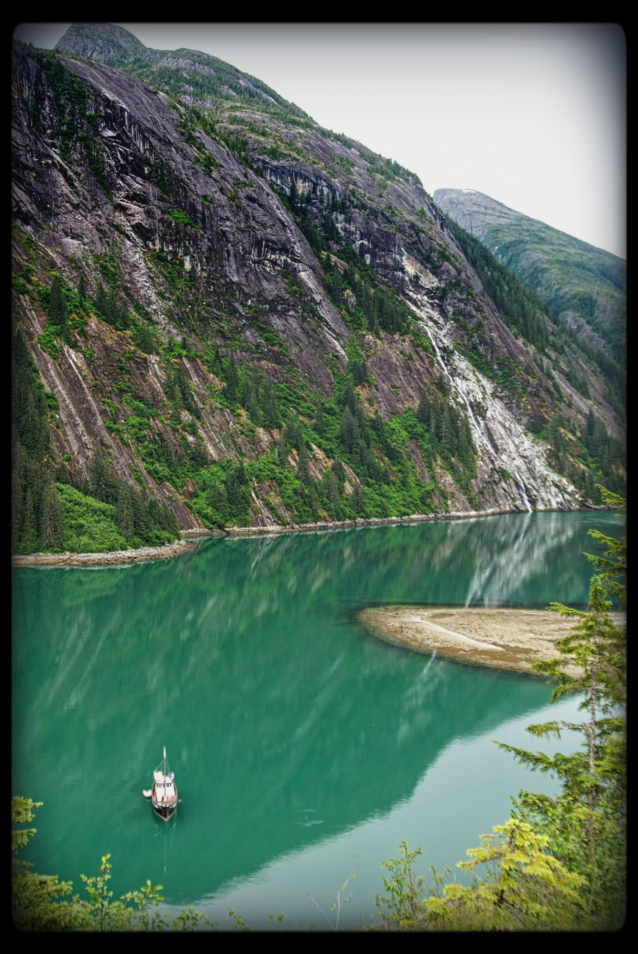 Hiking at Fords Terror in Alaska on a small ship cruise