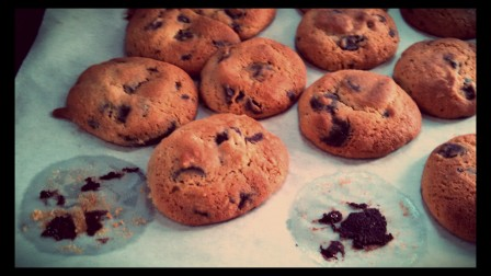 Good old fashioned chocolate chip cookies