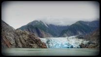 North Sawyer Glacier in Tracy Arm Small Ship Cruise