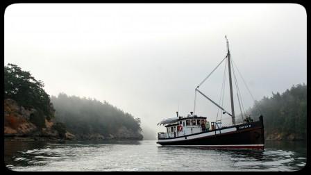 David B at Sucia Island