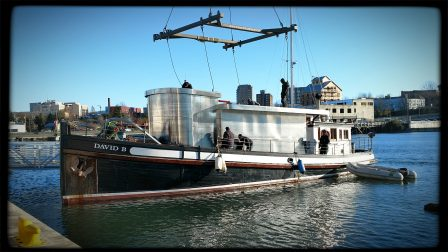 New pilothouse for Alaska small cruise boat