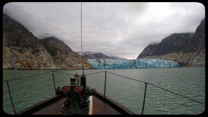 Small Cruise Ship David B in Alaska