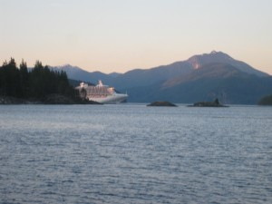 Johnstone Strait | Cruise Ship | Seymour Narrows