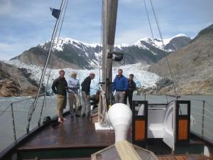 Sawyer Glacier | David B Cruises | Alaska Yacht Charter