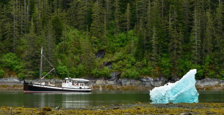 Small Cruise Ship in Alaska