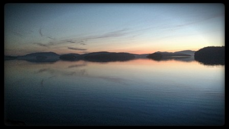 Sunrise in the San Juan Islands