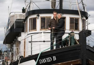 Everett Herald Article on the David B