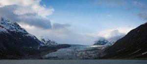 Reid Glacier in Glacier Bay