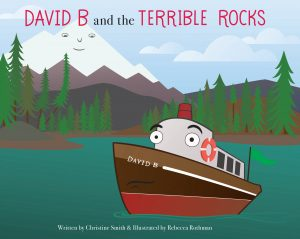Kids Book David B and the Terrible Rocks