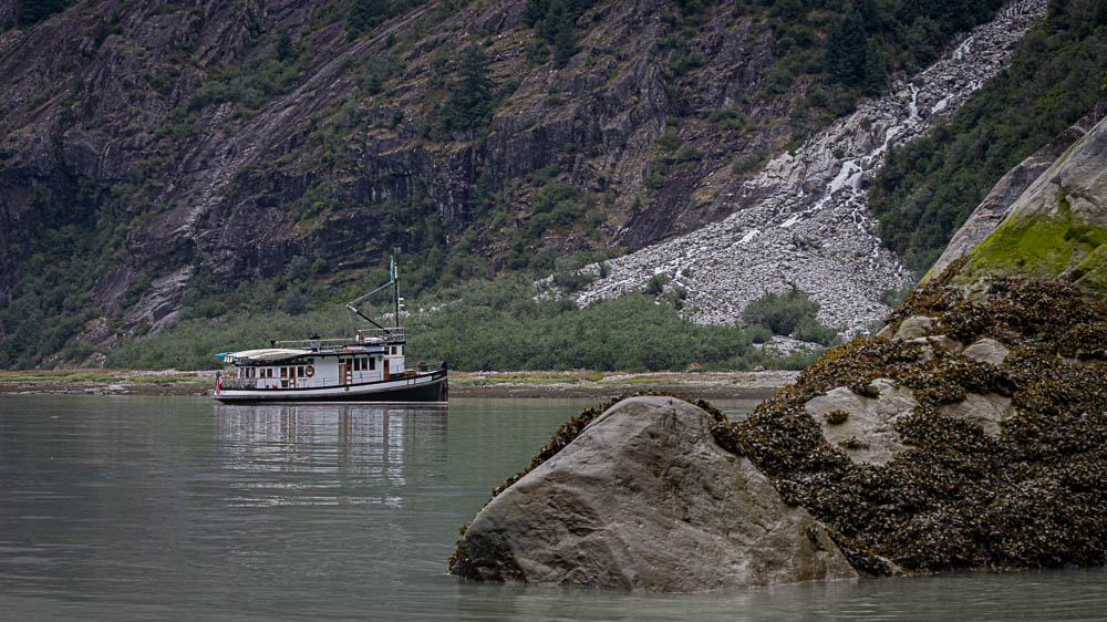 Small Charter Yacht in Alaska